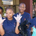 Students took ownership clean campus