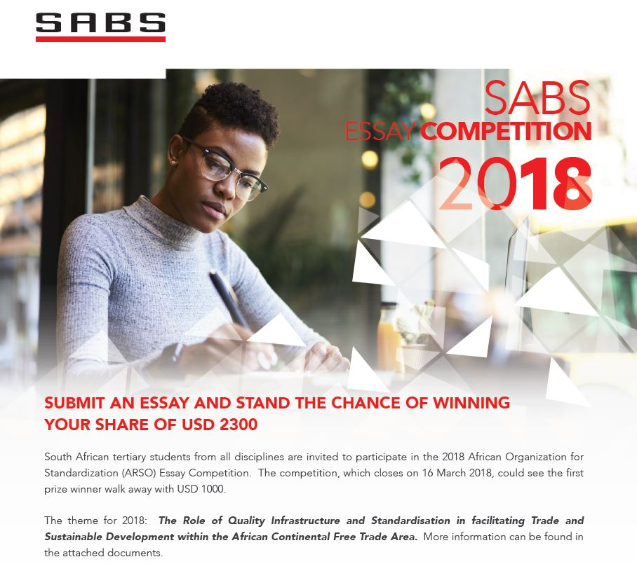 SABS Essay Competition Cover
