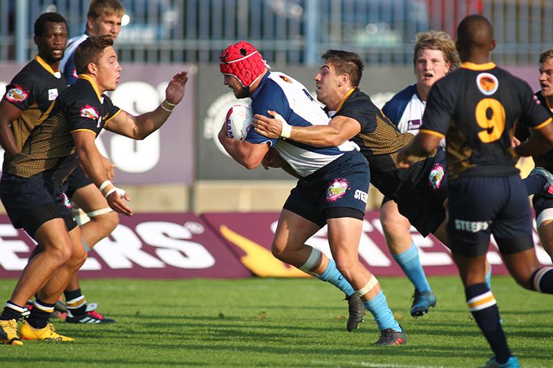 Tiaan Erasmus of CUT during the Varsity Cup match between CUT an